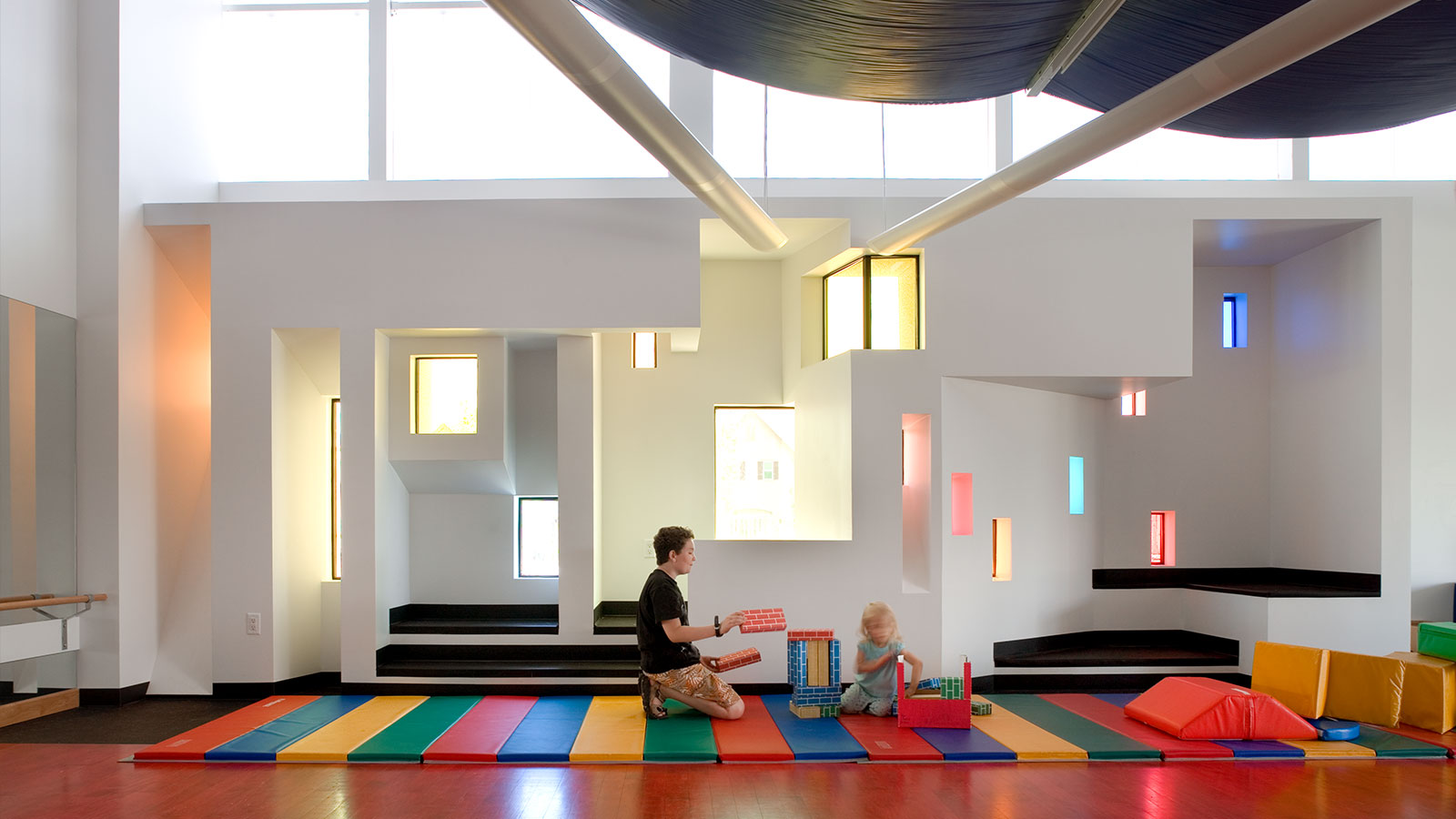 Classroom Design For The Blind ~ Anchor center for blind children davis partnership