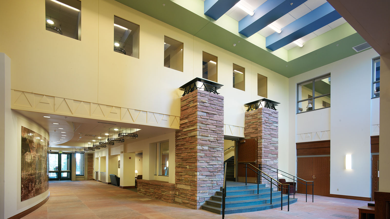 university of colorado boulder wolf law building davis partnership