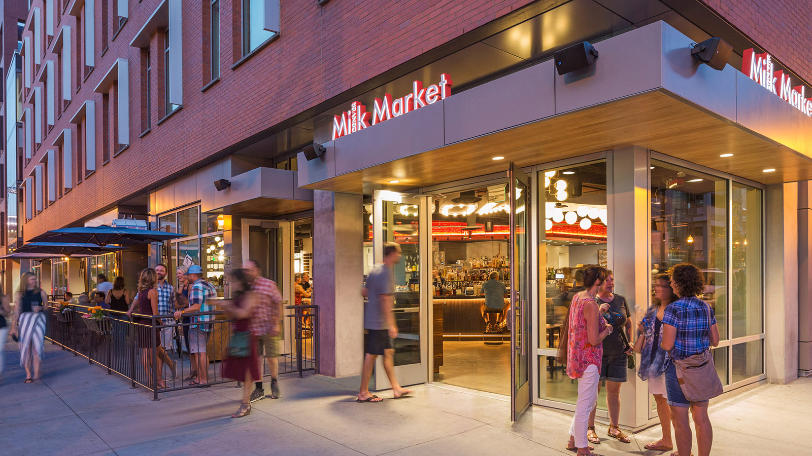 Denver Milk Market At Dairy Block